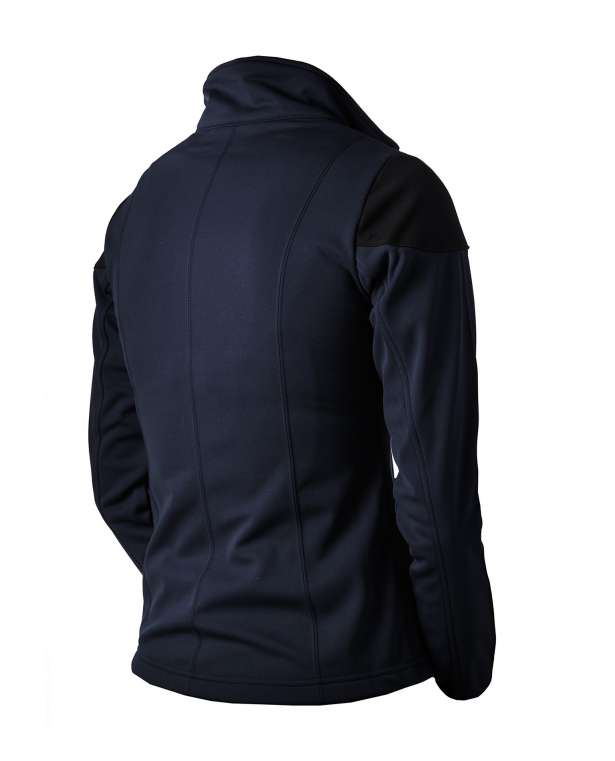 ES Navy Softshell takki Midnight blue